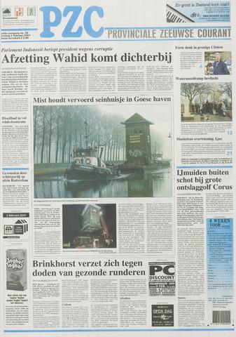 Provinciale Zeeuwse Courant 2001-02-02