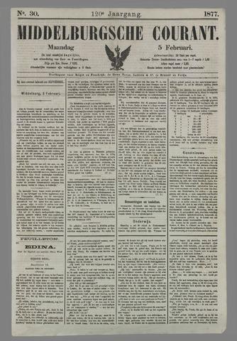 Middelburgsche Courant 1877-02-05
