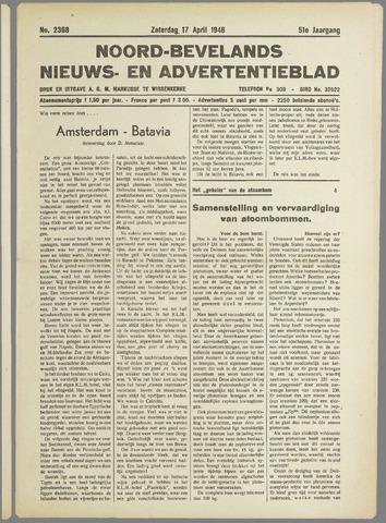Noord-Bevelands Nieuws- en advertentieblad 1948-04-17