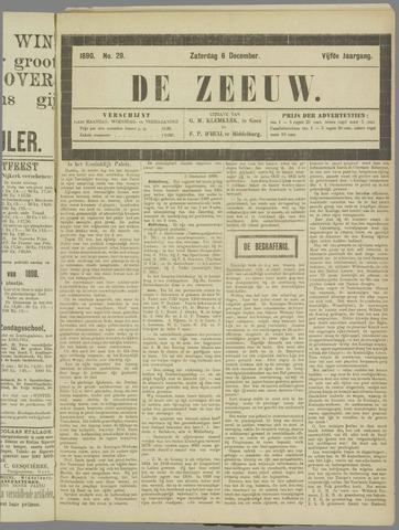 De Zeeuw. Christelijk-historisch nieuwsblad voor Zeeland 1890-12-06