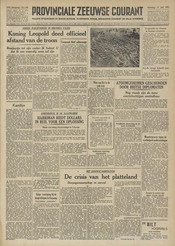 Provinciale Zeeuwse Courant 1951-07-17