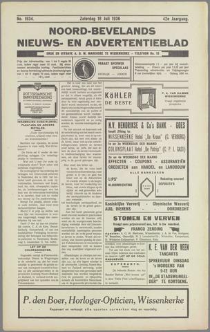 Noord-Bevelands Nieuws- en advertentieblad 1936-07-18