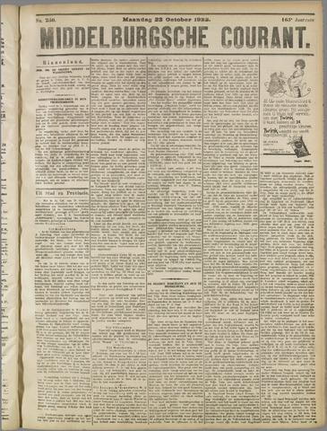 Middelburgsche Courant 1922-10-23