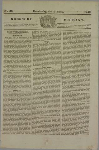 Goessche Courant 1842-06-09