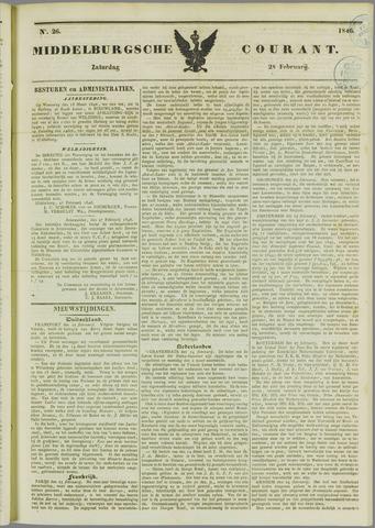 Middelburgsche Courant 1846-02-28