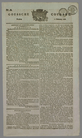 Goessche Courant 1833-01-11
