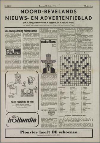 Noord-Bevelands Nieuws- en advertentieblad 1966-10-15