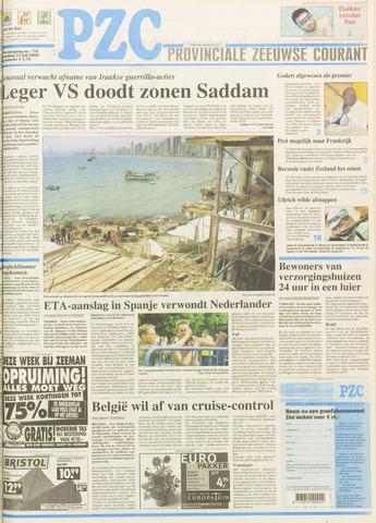 Provinciale Zeeuwse Courant 2003-07-23