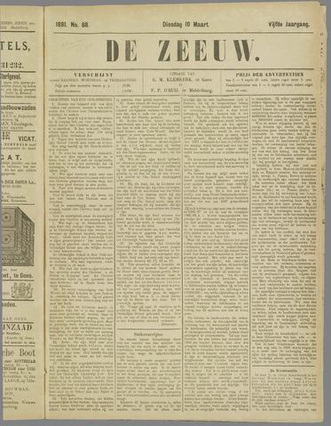 De Zeeuw. Christelijk-historisch nieuwsblad voor Zeeland 1891-03-10