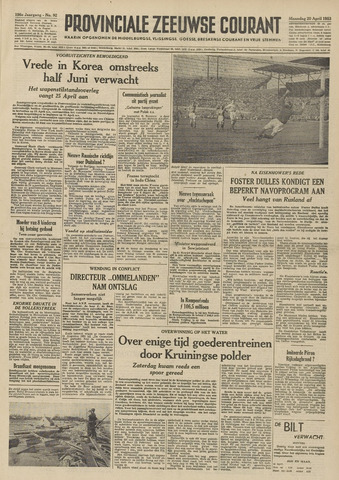 Provinciale Zeeuwse Courant 1953-04-20