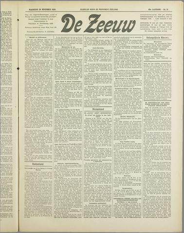 De Zeeuw. Christelijk-historisch nieuwsblad voor Zeeland 1934-11-28