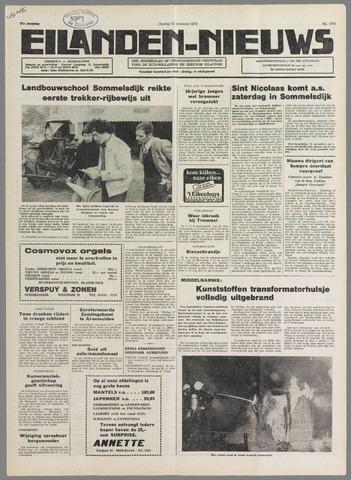 Eilanden-nieuws. Christelijk streekblad op gereformeerde grondslag 1978-11-21