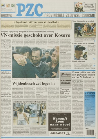Provinciale Zeeuwse Courant 1999-05-25
