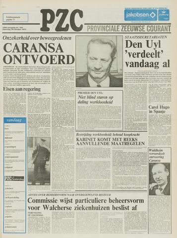 Provinciale Zeeuwse Courant 1977-10-29