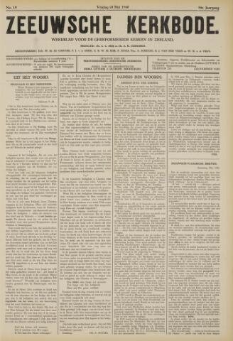 Zeeuwsche kerkbode, weekblad gewijd aan de belangen der gereformeerde kerken/ Zeeuwsch kerkblad 1940-05-10