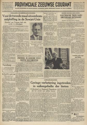 Provinciale Zeeuwse Courant 1951-10-04