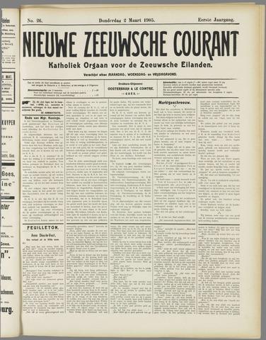 Nieuwe Zeeuwsche Courant 1905-03-03