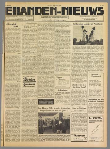 Eilanden-nieuws. Christelijk streekblad op gereformeerde grondslag 1959-12-30