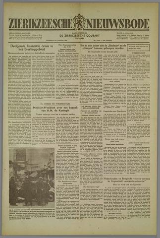 Zierikzeesche Nieuwsbode 1952-01-23