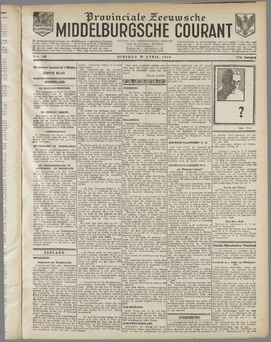 Middelburgsche Courant 1930-04-29