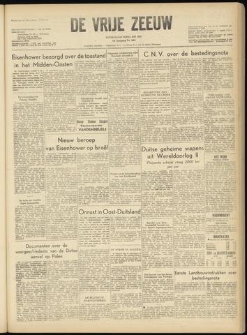de Vrije Zeeuw 1957-02-19