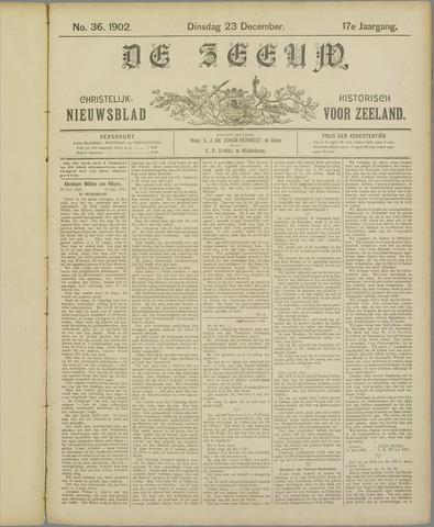 De Zeeuw. Christelijk-historisch nieuwsblad voor Zeeland 1902-12-23