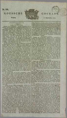 Goessche Courant 1833-09-27