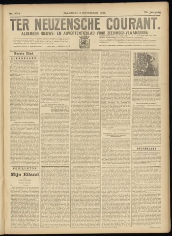 Ter Neuzensche Courant. Algemeen Nieuws- en Advertentieblad voor Zeeuwsch-Vlaanderen / Neuzensche Courant ... (idem) / (Algemeen) nieuws en advertentieblad voor Zeeuwsch-Vlaanderen 1933-11-06