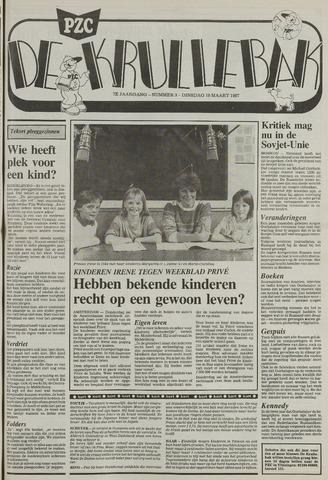 Provinciale Zeeuwse Courant katern Krullenbak (1981-1999) 1987-03-10