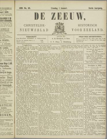 De Zeeuw. Christelijk-historisch nieuwsblad voor Zeeland 1889