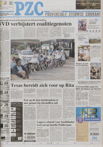 Provinciale Zeeuwse Courant 2005-09-22