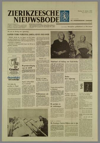 Zierikzeesche Nieuwsbode 1972-10-24