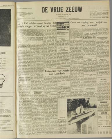 de Vrije Zeeuw 1962-01-15