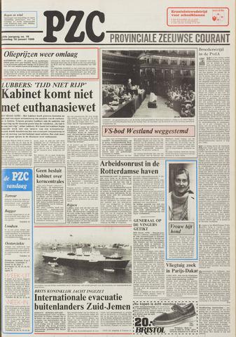 Provinciale Zeeuwse Courant 1986-01-18