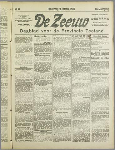 De Zeeuw. Christelijk-historisch nieuwsblad voor Zeeland 1930-10-09