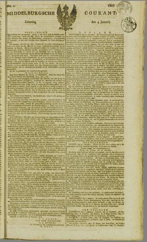 Middelburgsche Courant 1817-01-04