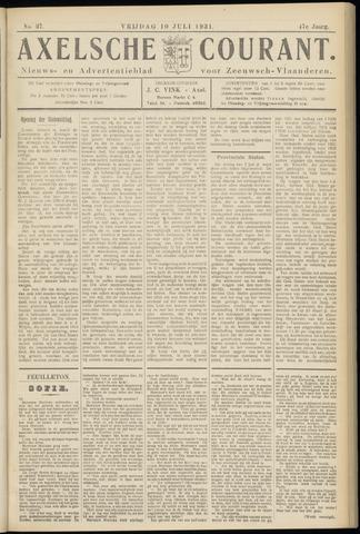 Axelsche Courant 1931-07-10