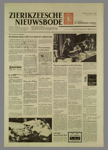 Zierikzeesche Nieuwsbode 1972-02-11