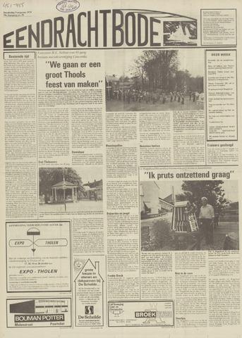 Eendrachtbode (1945-heden)/Mededeelingenblad voor het eiland Tholen (1944/45) 1979-08-09