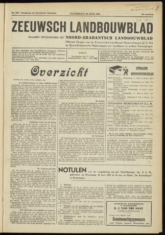 Zeeuwsch landbouwblad ... ZLM land- en tuinbouwblad 1951-06-30