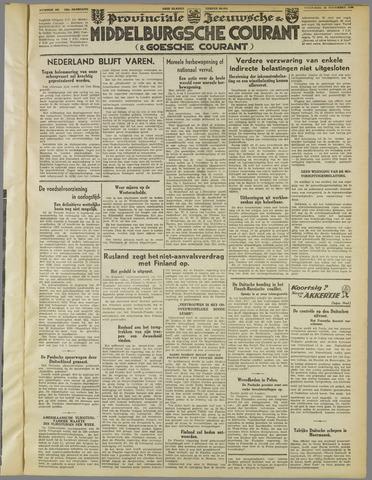 Middelburgsche Courant 1939-11-29