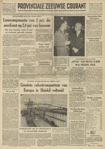 Provinciale Zeeuwse Courant 1957-05-17