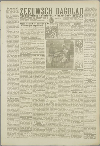 Zeeuwsch Dagblad 1945-08-11