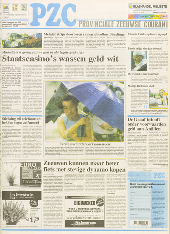 Provinciale Zeeuwse Courant 2003-09-03