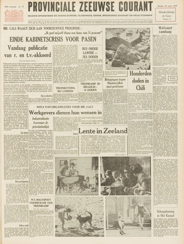 Provinciale Zeeuwse Courant 1965-03-30