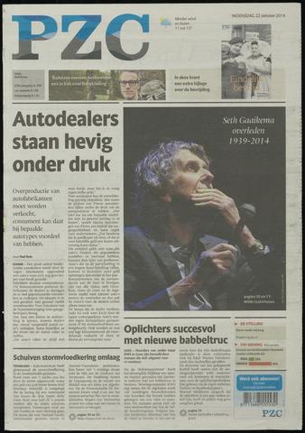 Provinciale Zeeuwse Courant 2014-10-22