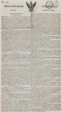 Middelburgsche Courant 1829-11-28