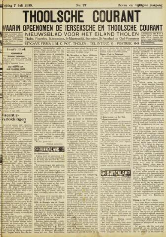 Ierseksche en Thoolsche Courant 1939-07-07