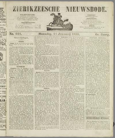 Zierikzeesche Nieuwsbode 1850-01-14