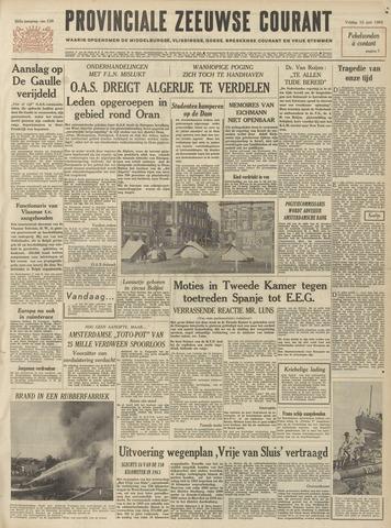 Provinciale Zeeuwse Courant 1962-06-15